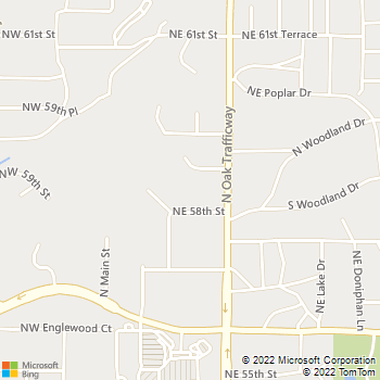 Map - Northwood Village - 300 NE 58th St - Kansas City, MO, 64118