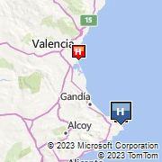 Parador de Javea Map