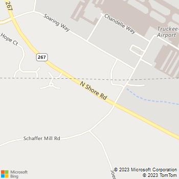 Map - Donner-Truckee Veterinary Hospital - 9701 Hwy 267 - Truckee, CA, 96161
