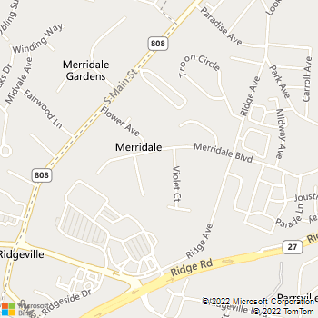 Map - Mountain Contracting - 1002 Merrydale Boulevard - Mount Airy, MD, 21771