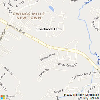 Map - Cascades Overlook Apartments - 4604 Cascades Mill Dr - Owings Mills, MD, 21117