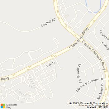Map - The Vintage - 1001 S Meadows Pkwy - Reno, NV, 89521