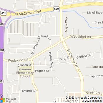 Map - New Image Land Service - 2280 Platora Way - Reno, NV, 89512