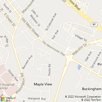 Map - Westbrooke Apartments - 416 Poole Road #T4 - Westminster, MD, 21157