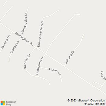 Map - Chesapeake Service Ctr LLC - 895B Nottingham Rd - Elkton, MD, 21921