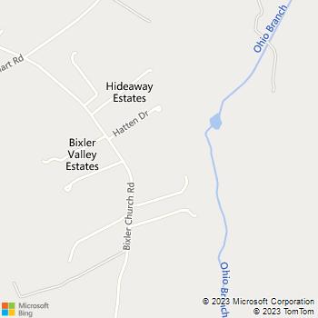 Map - Legendary Home Services - 3907 Bixler Church Road - Westminster, MD, 21158