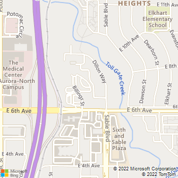 Map - JM Electric, Inc. - 700 Billings Street, Unit R - Aurora, CO, 80011