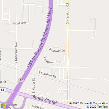 Map - Pheasant Run Apartments - 7925 Palawan Dr - Indianapolis, IN, 46239