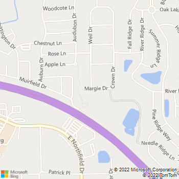 Map - D and C Electric - 8141 Margie Drive - Brownsburg, IN, 46112