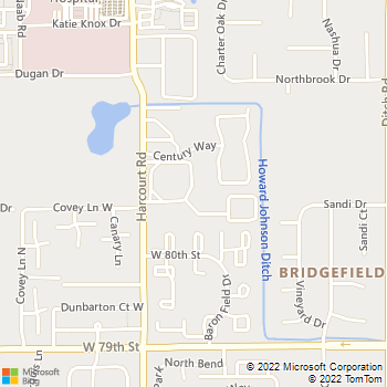 Map - Fountainhead Apartments - 8101 Laguna Dr - Indianapolis, IN, 46260