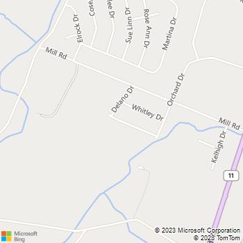 Map - Kaiser Painting - 219 Merriweather Drive - Chambersburg, PA, 17201