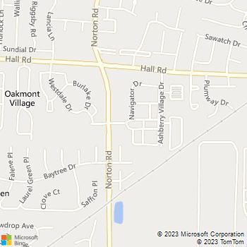 Map - Bolton Estates - 5400 Lindbergh Blvd - Columbus, OH, 43228