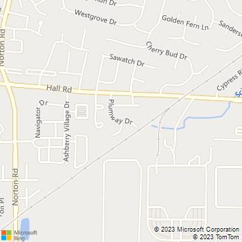 Map - Plumwood - 1050 Plumrose Drive - Columbus, OH, 43228