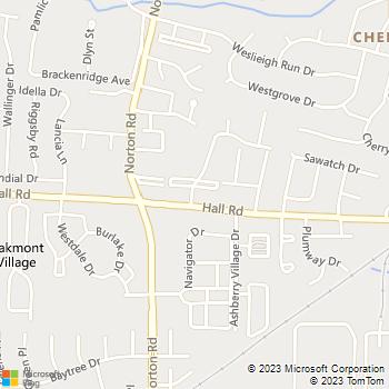 Map - Abbington Village - 988 Muirwood Village Drive - Columbus, OH, 43228