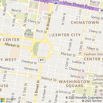 Map - Enclaves - 3900 Gateway Drive - Philadelphia, PA, 19145