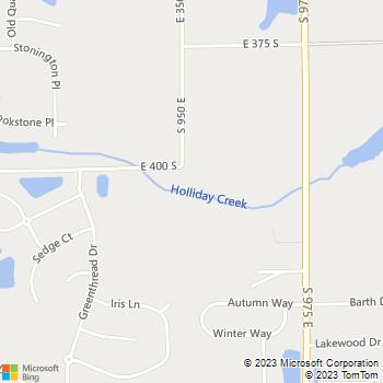 Map - VCA Eagle Park Animal Hospital - 1008 West Oak - Zionsville, IN, 46077