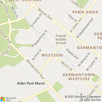 Map - Delmar Morris Apartments - 319 W Chelten Ave - Philadelphia, PA, 19144