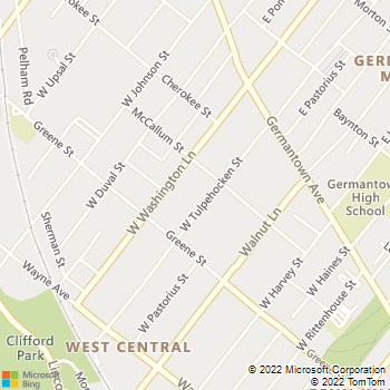 Map - Copley Manor Apartments - 121 - 123 W Tulpehocken St - Philadelphia, PA, 19144