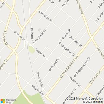 Map - Greene Manor - 259 W Johnson St - Philadelphia, PA, 19144