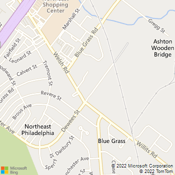 Map - Atrium Apartments - 2555 Welsh Rd - Philadelphia, PA, 19114