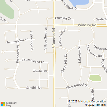 Map - Animal Hospital at the Crossing - 3001 Village Office Place - Champaign, IL, 61822