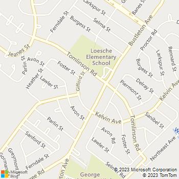 Map - Ashley Court Apartments - 10900 Bustleton Ave, #B-89 - Philadelphia, PA, 19116