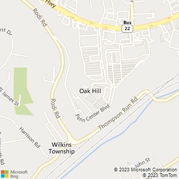Map - Laurel Village Apartments - 1000 Penn Center Blvd - Pittsburgh, PA, 15235