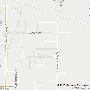 Map - Lighten Up Electrical - 671 Academy Court, Unit D - Windsor, CO, 80550