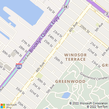 Map - Greenwood Heights - 761 Fourth Ave. - Brooklyn, NY, 11232