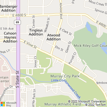 Map - Advantage Eye Care - 4995 Atwood Blvd. - Salt Lake City, UT, 84107