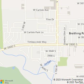 Map - Mission Meadowbrook - 820 W Timber Creek Way - Salt Lake City, UT, 84119