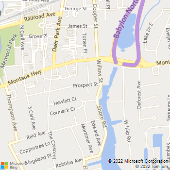 Map - Fairfield Harbor At Babylon Village - 99 Prospect St - Babylon, NY, 11702