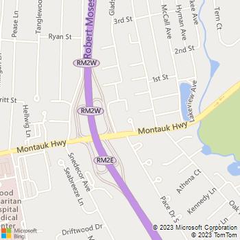 Map - Fairfield Arnold Manor - 1001 Montauk Highway - West Islip, NY, 11795