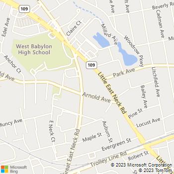 Map - Fairfield Suburbia Gardens - 381-401 Great East Neck Road - West Babylon, NY, 11704