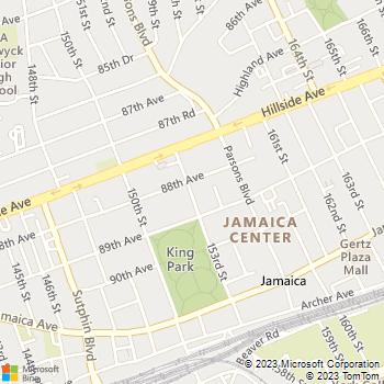 Map - 88-25 153rd Street - 88-25 153rd St - Jamaica, NY, 11432