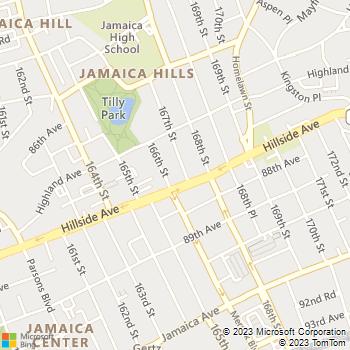 Map - 87-50 167th Street - 87-50 167th St - Jamaica, NY, 11432