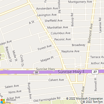 Map - Fairfield Maples South - 850 Little East Neck Rd - West Babylon, NY, 11704