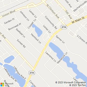 Map - Fairfield West At Bay Shore - 241 W Main St - Bay Shore, NY, 11706