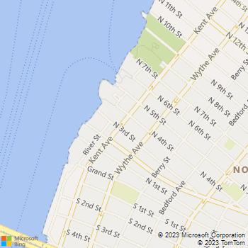 Map - 175 Kent - 175 Kent Ave - Brooklyn, NY, 11211