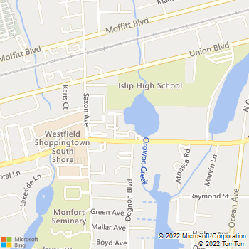 Map - Fairfield On The Lake - 3-15 Willowbrook Ave - Bay Shore, NY, 11706
