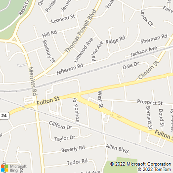 Map - Nassau-Suffolk Animal Hospital - 27 Conklin St - Farmingdale, NY, 11735