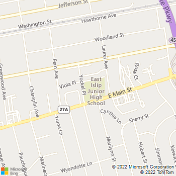 Map - Fairfield At East Islip - 255-265 East Main St - East Islip, NY, 11730
