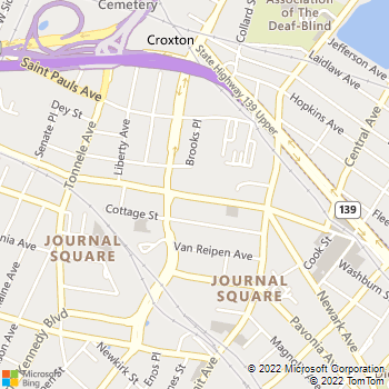 Map - Premium Locksmiths - 730 Newark Avenue - Jersey City, NJ, 07306