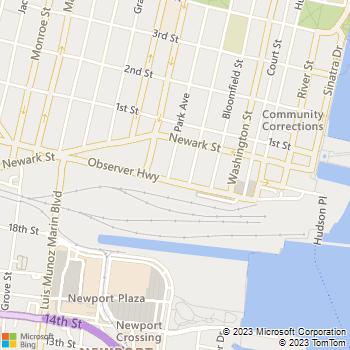 Map - Archstone Hoboken - 77 Park Ave - Hoboken, NJ, 07030