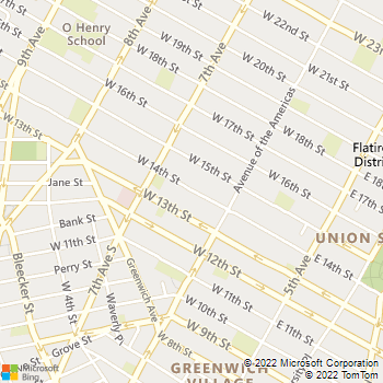 Map - Goldstar Locksmith - 140 w 14 st - New York, NY, 10011