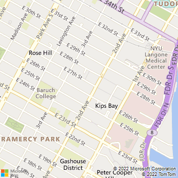Map - Parc East - 240 E 27th St - New York, NY, 10016