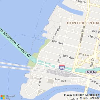 Map - Avalon Riverview - 2-01 50th Avenue - Long Island City, NY, 11101