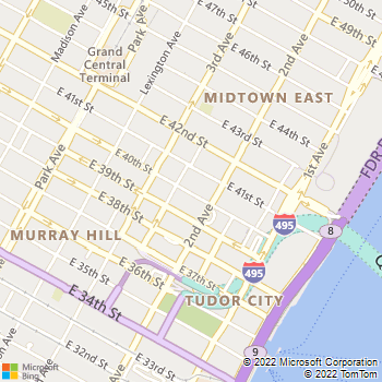 Map - Archstone Murray Hill - 245 E 40th St - New York, NY, 10016