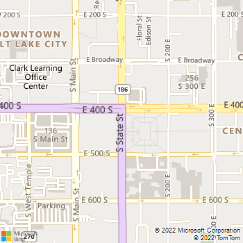 Map - Fairstone At Riverview - 4341 S Riverboat Rd - Salt Lake City, UT, 84123
