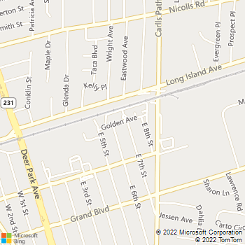 Map - Fairfield Courtyard At Deer Park - 45 Golden Ave - Deer Park, NY, 11729